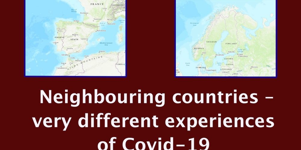 Why do neighbouring countries have such different experiences with Covid-19?